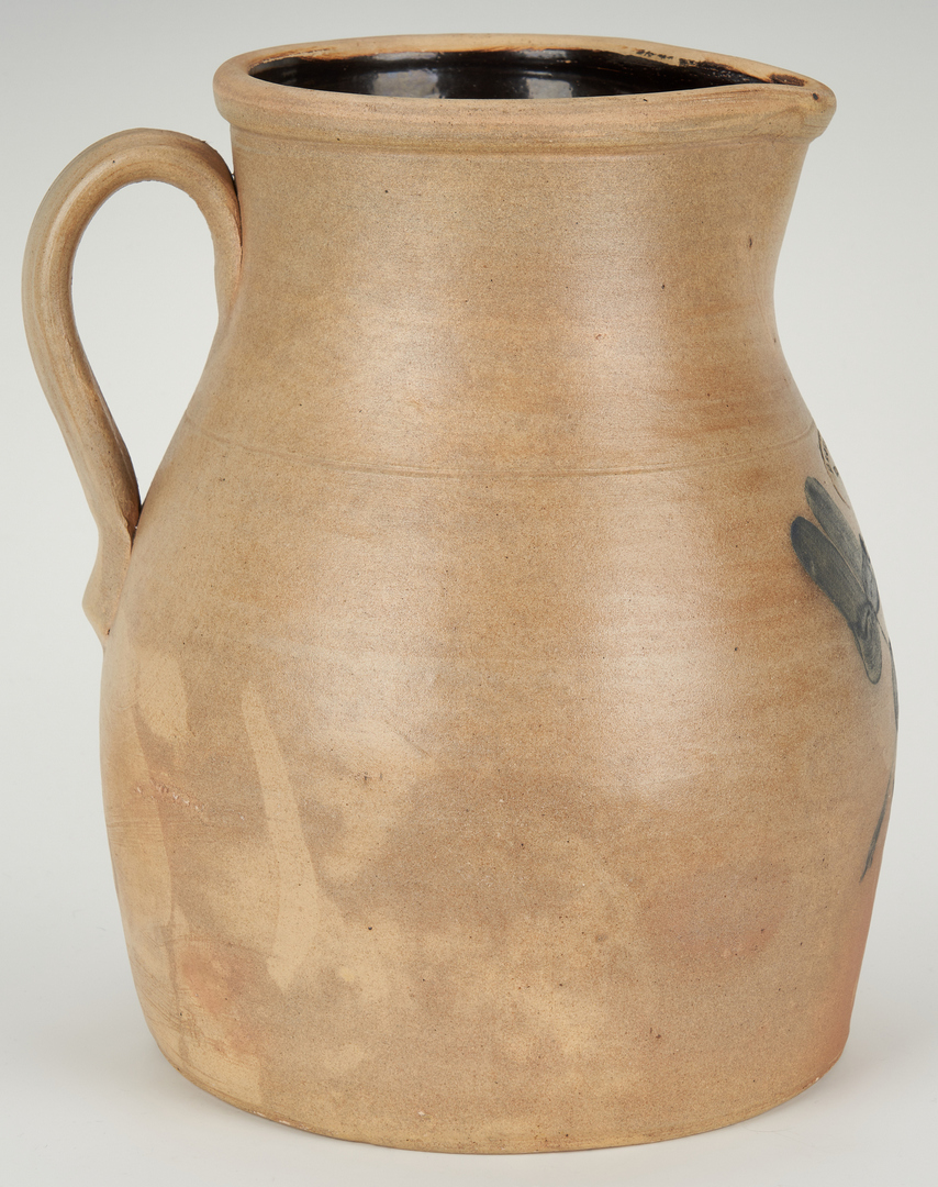 Lot 848: New York & New England Cobalt Decorated Pottery Items
