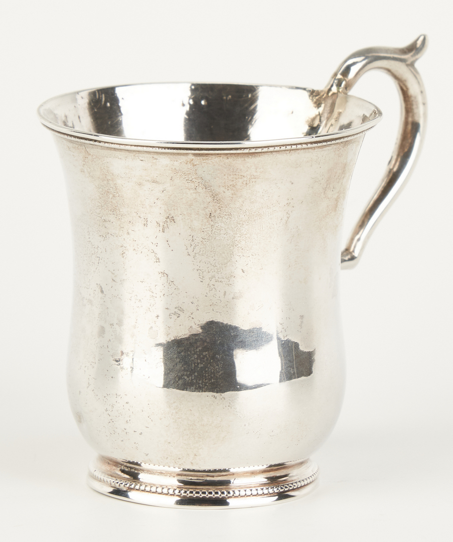 Lot 86: Alabama Coin Silver Cup, Campbell & Yongue