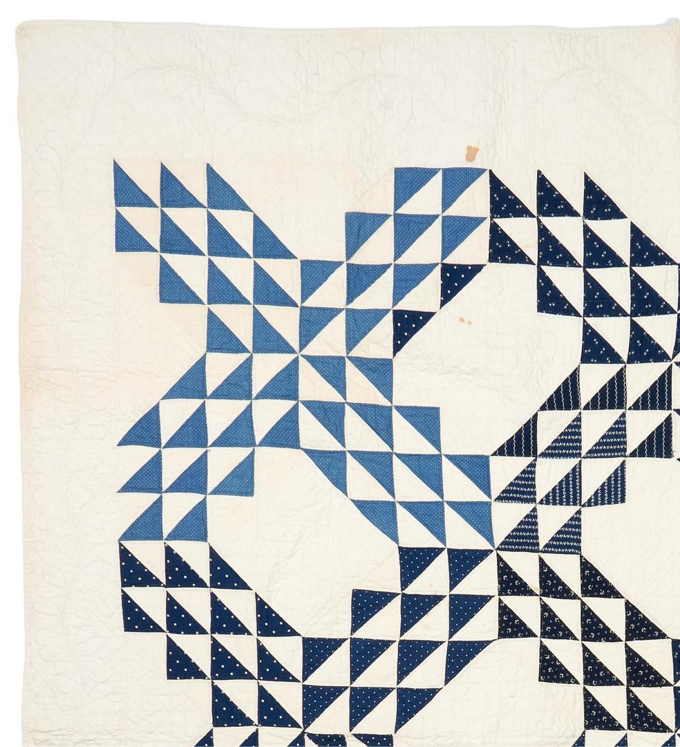 Lot 875: 3 Southern/East TN Pieced Cotton Quilts, incl. Ocean Waves