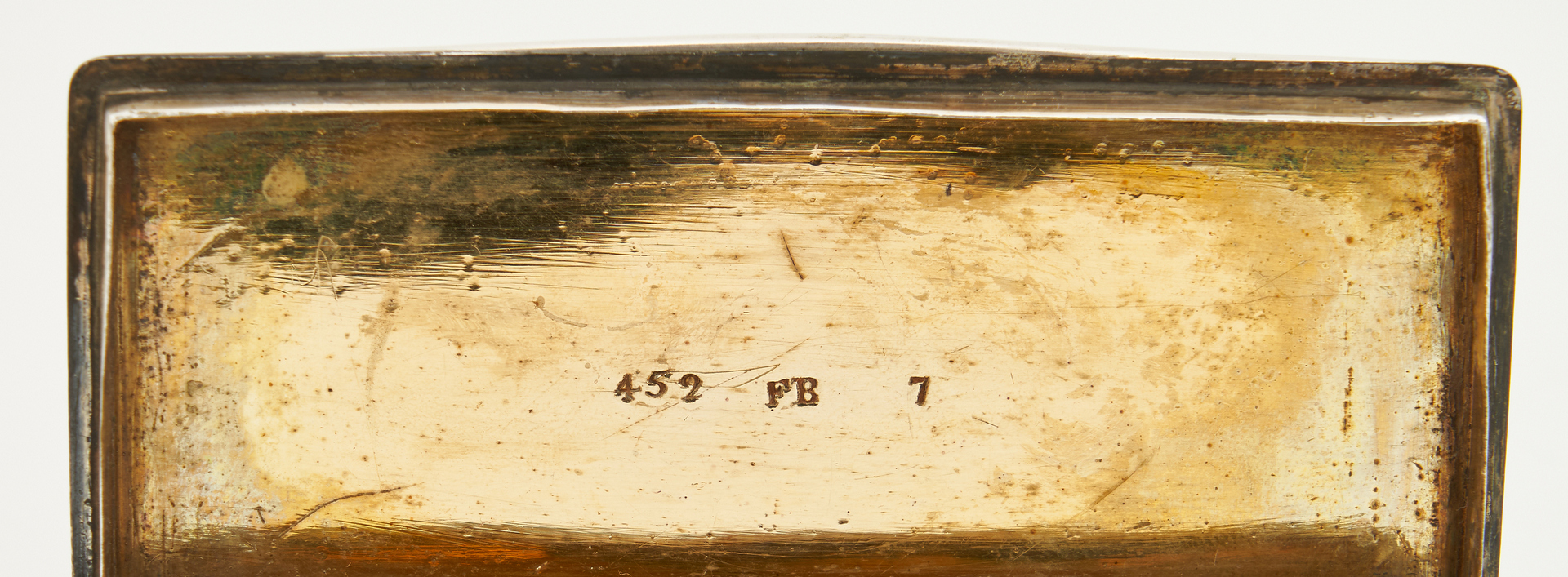 Lot 87: Snuff box and flatware incl. GA, LA makers, 8 pcs.