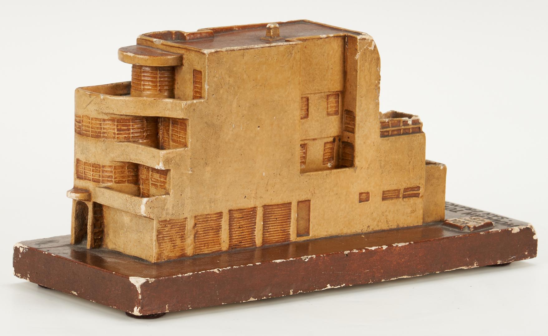 Lot 896: WPA Plaster Model, San Francisco Townhouse