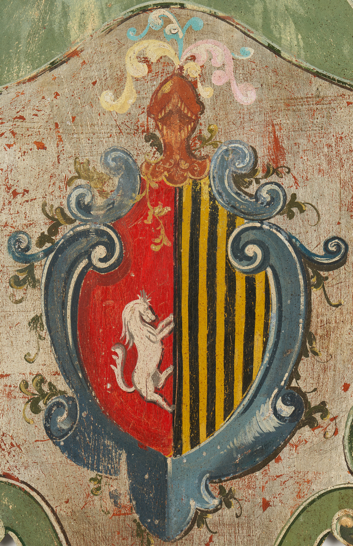 Lot 908: Italian Coat of Arms Plaque