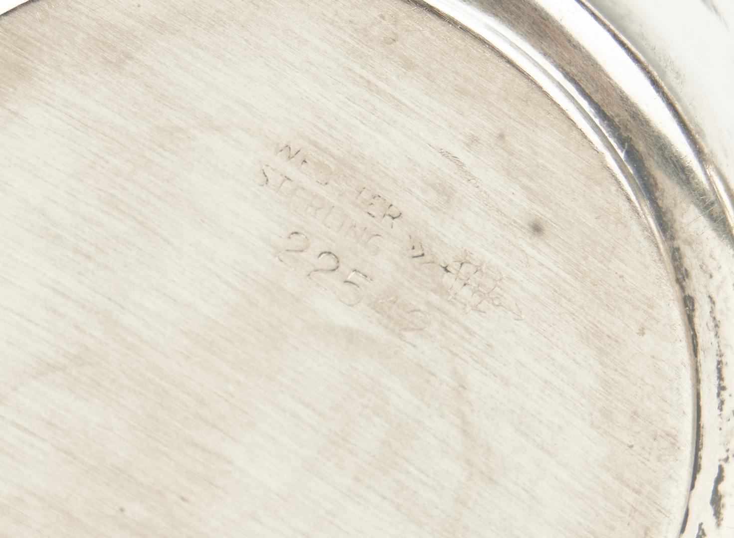 Lot 935: 45 Asst. Sterling Silver Items, incl. Flatware