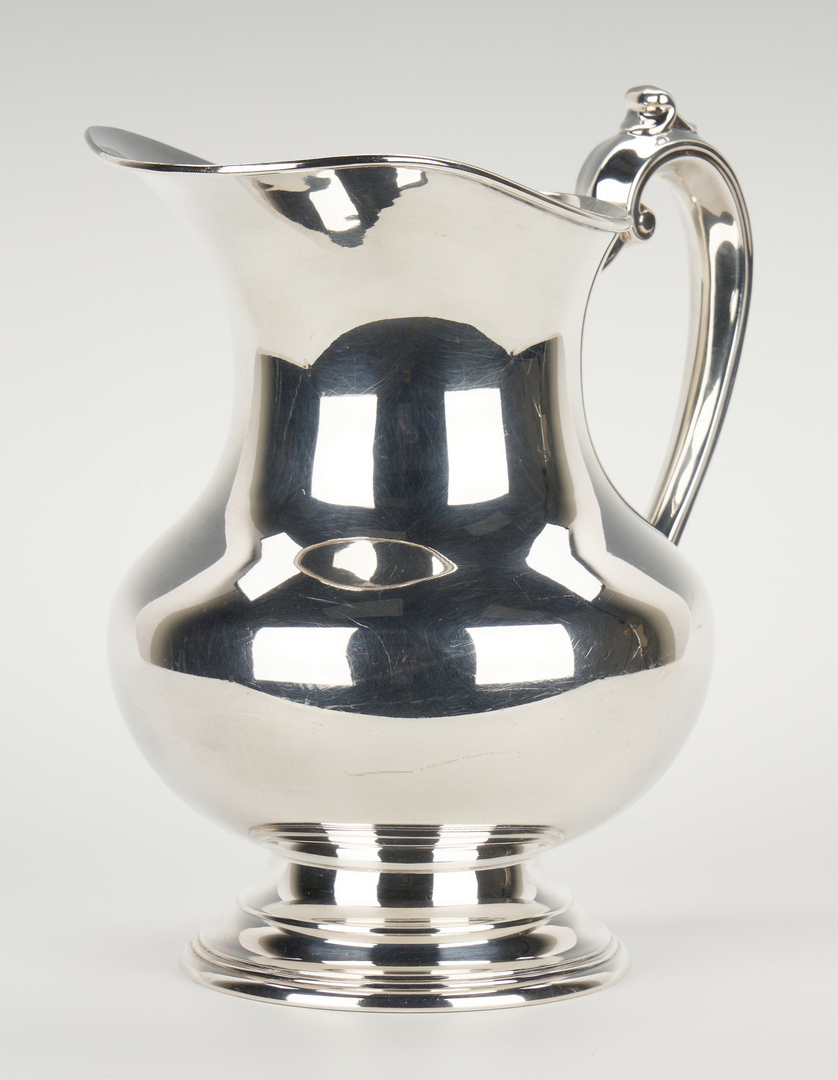 Lot 938: Reed and Barton Sterling Water Pitcher