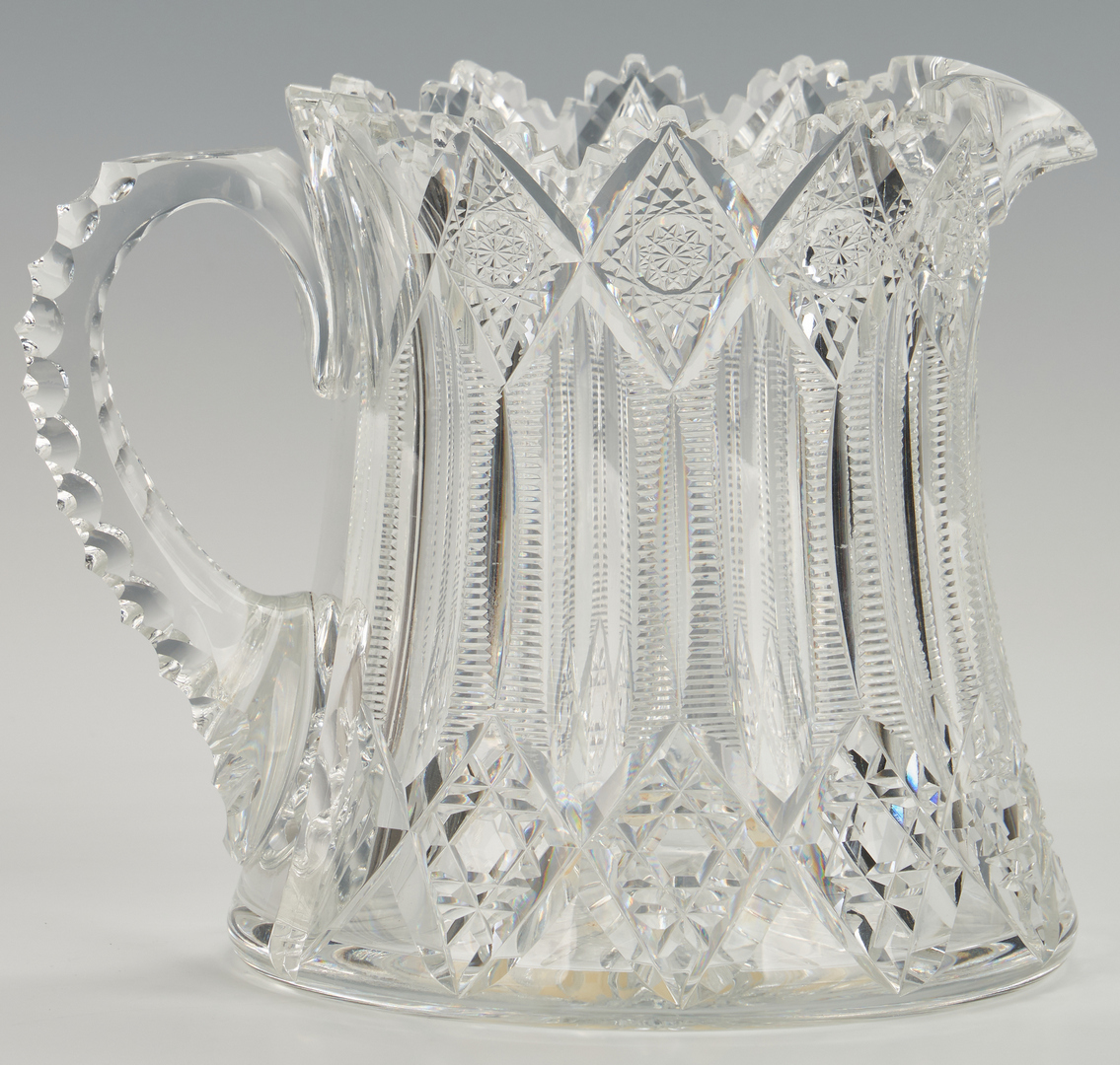 Lot 952: ABPCG Signed Pitcher, Cheese Dome and Handled Server