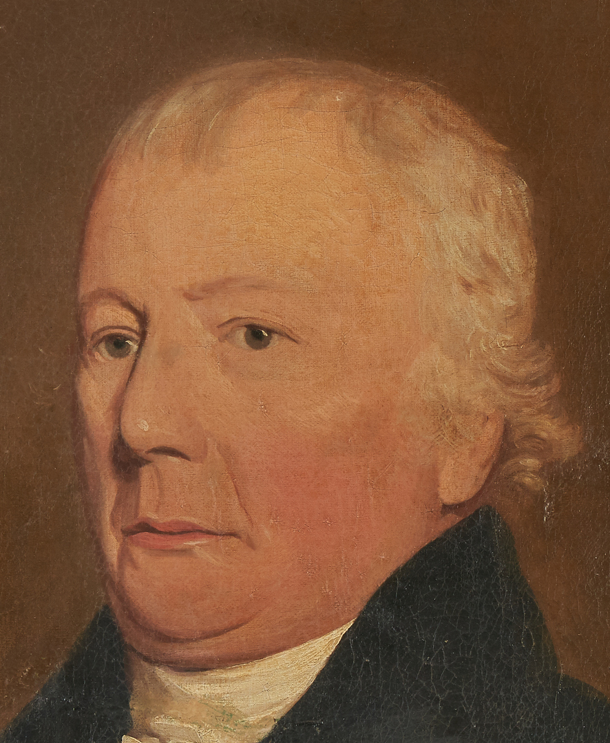 Lot 958: Portrait of William Stuart, Maryland