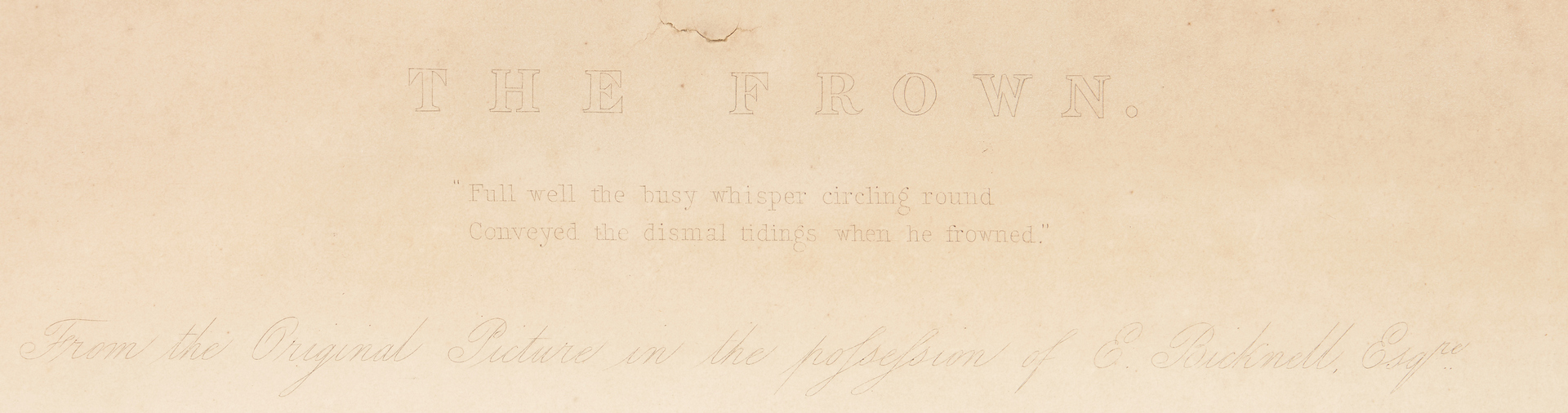 Lot 965: 3 19th Cent. Works on Paper, incl. Theorem, Engravings