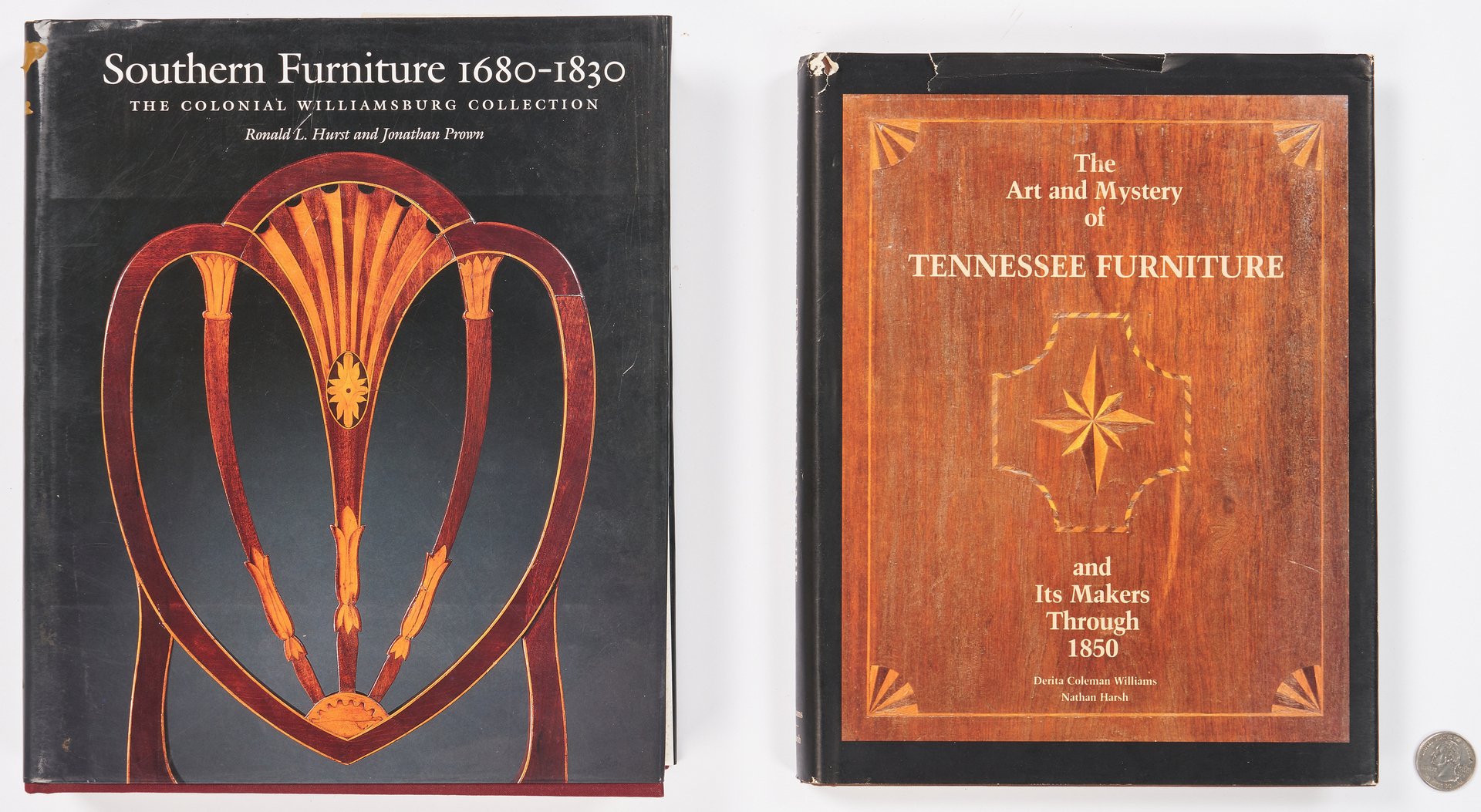 Lot 980: 2 books: Tennessee & Southern Furniture