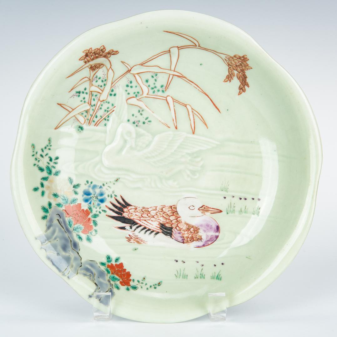 Lot 999: 19 Asian Items, incl. Chinese Export, Imari, Cloisonne