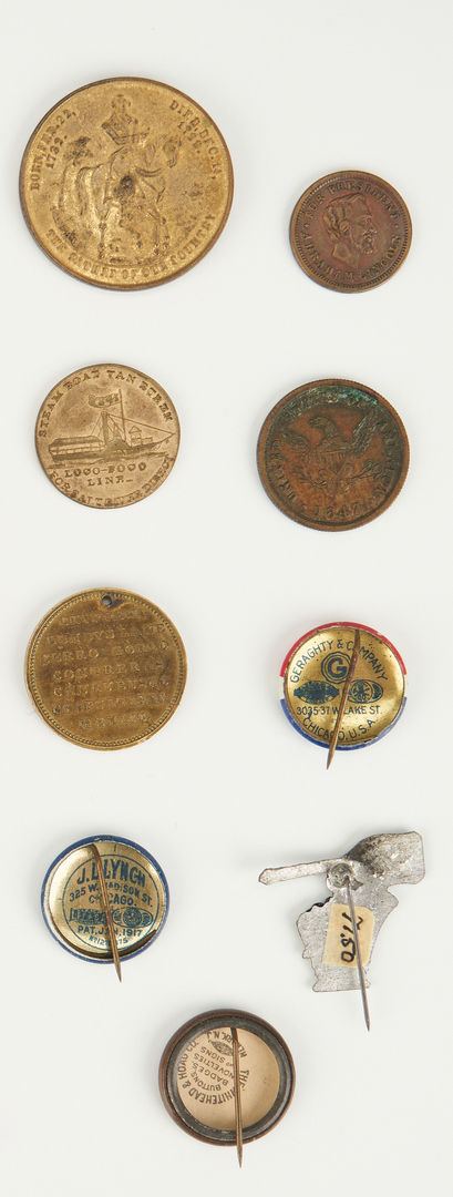 Lot 1006: 12 Presidential Related Items, incl. Wilson Inaug.