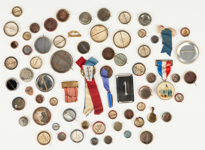 Lot 1015: 67 War & Political Related Ephemera Items
