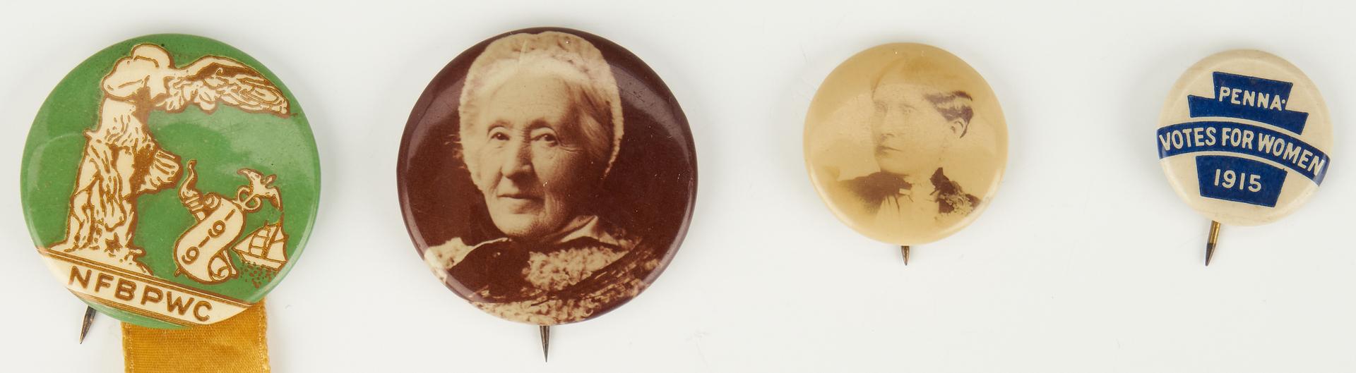 Lot 1019: 5 Women's Suffrage Related Ephemera Items