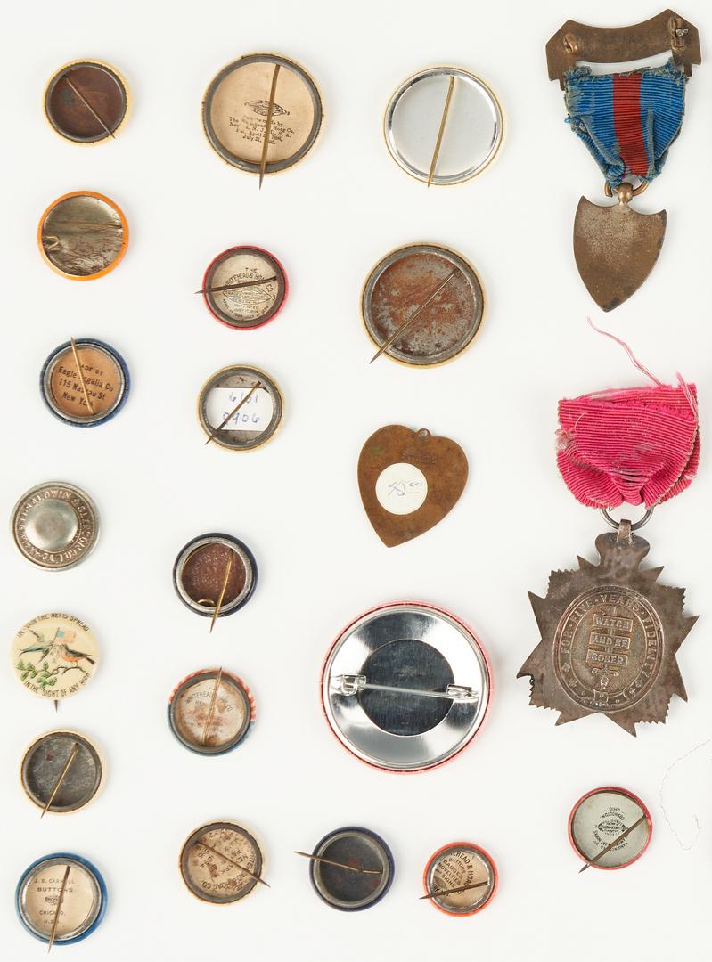 Lot 1021: 39 Prohibition & Women's Suffrage Related Ephemera Items