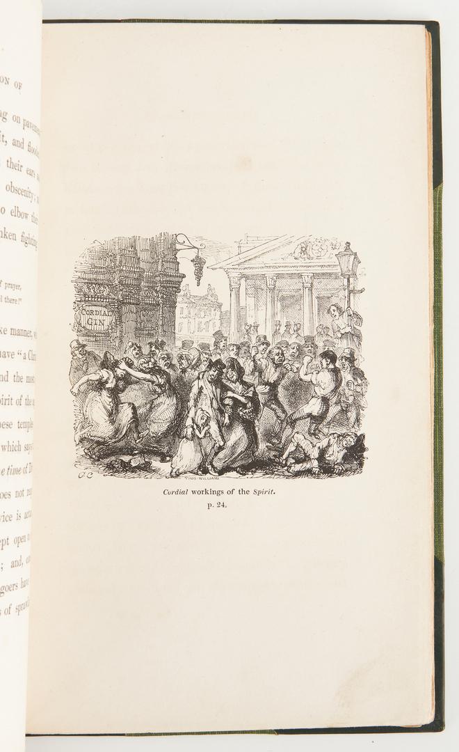 Lot 1038: 3 G. Cruikshank Illustrated Books