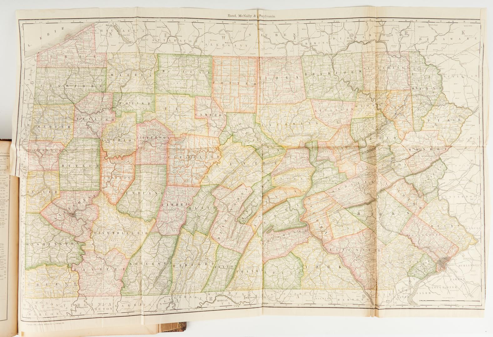 Lot 1041: Rand, McNally, & Co. World Atlas, 1881