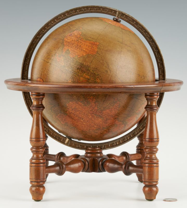 Lot 1042: Hammond's 9 Inch Tabletop Terrestrial Globe
