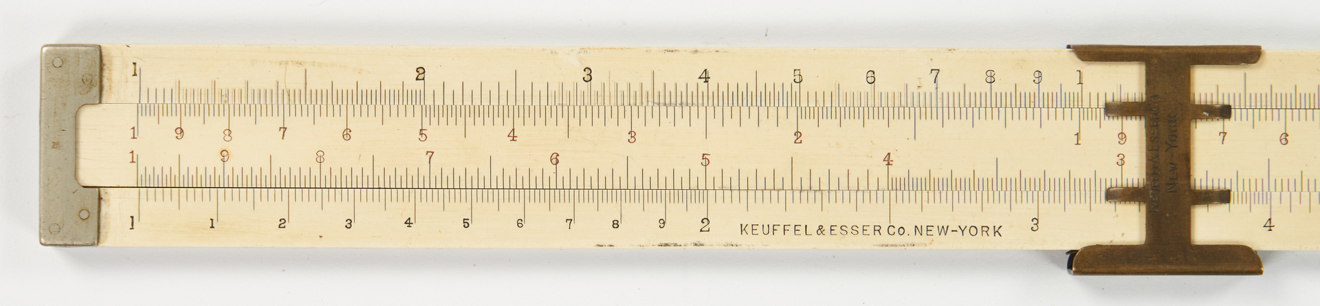 "Lot 1046: Keuffel and Esser 10"" Slide Rule"