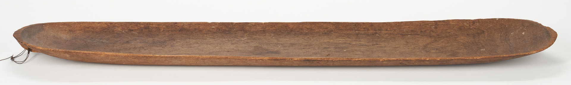 "Lot 1053: 19th C. Hand Hewn Trencher, 60""L"