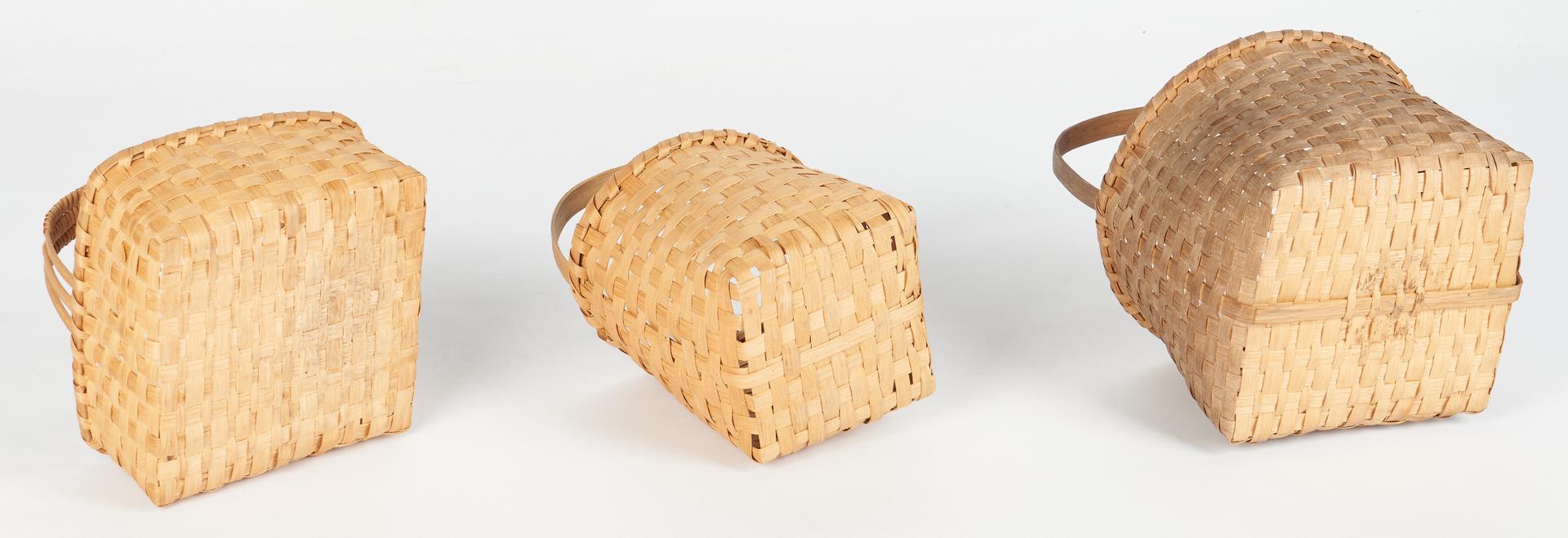 Lot 1057: 5 Cannon County TN Baskets