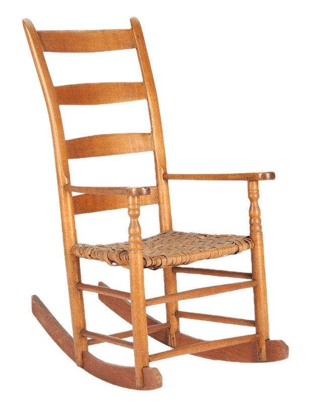 Lot 1061: Dick Poyner Tennessee Rocking Chair