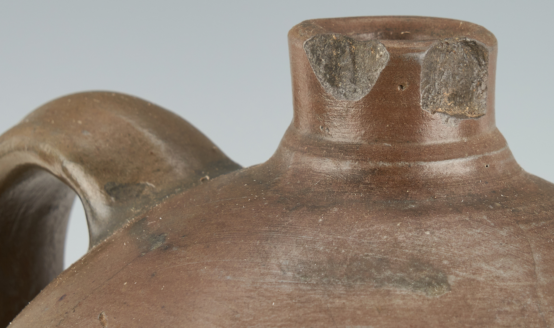 Lot 1070: WV Cobalt Decorated Stoneware Jug & Jar, Medford & Reilly, Two (2) Items
