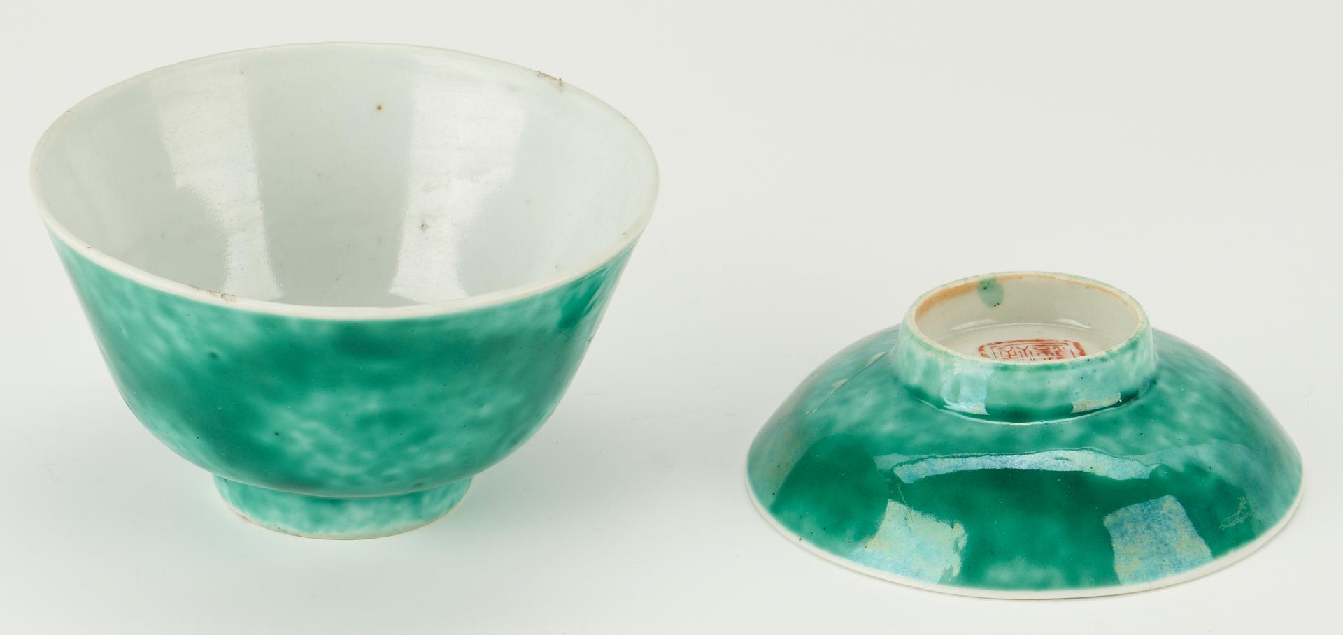 Lot 1094: 3 Chinese Porcelain Items, incl. Tongzhi Bowl