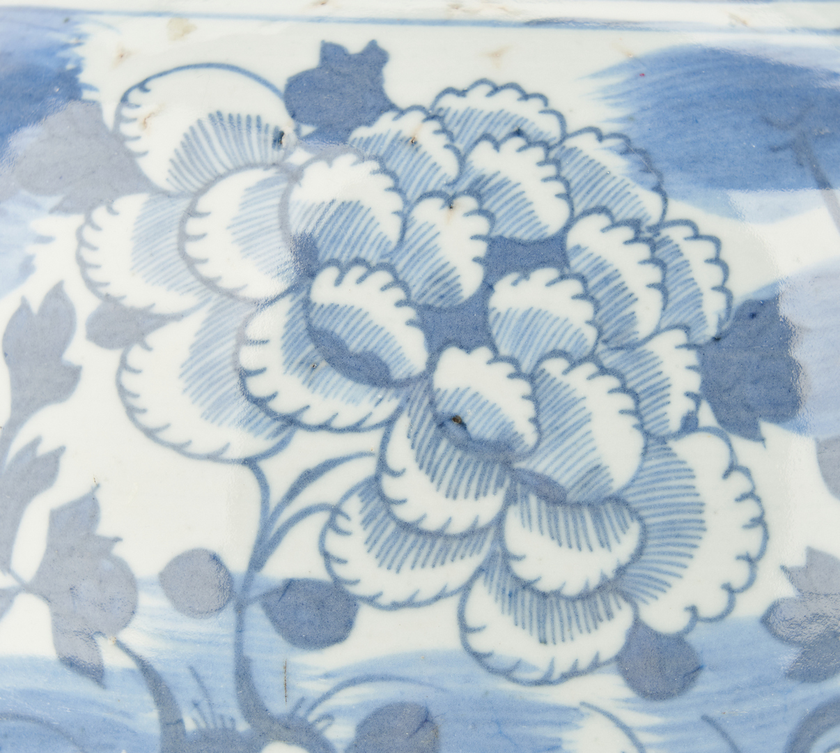 Lot 1097: 4 Asian Blue & White Porcelain Vases