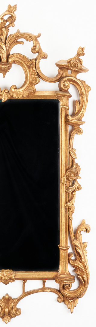Lot 1108: Rococo Style Giltwood Mirror by Uthmanor of Nashville