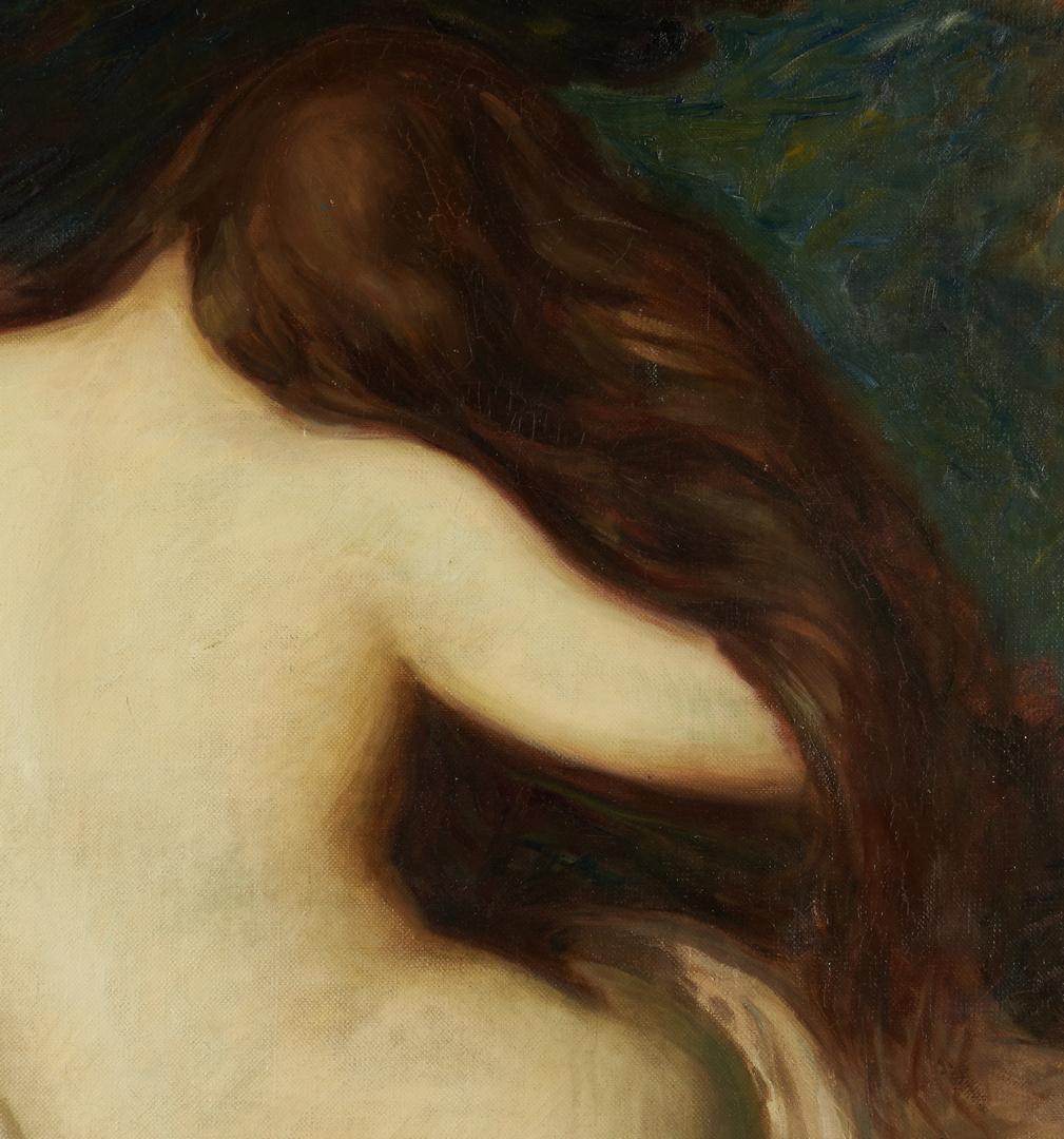 Lot 110: Maude Kaufman Eggemeyer Oil, Nude Woman