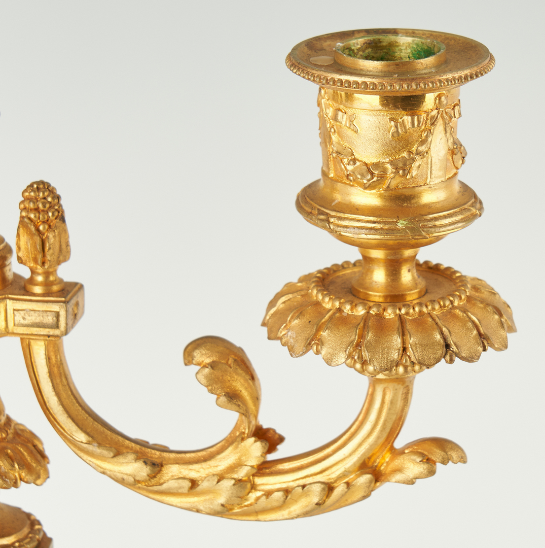 Lot 1114: 2 Neoclassical Style Lamps, incl. French tole