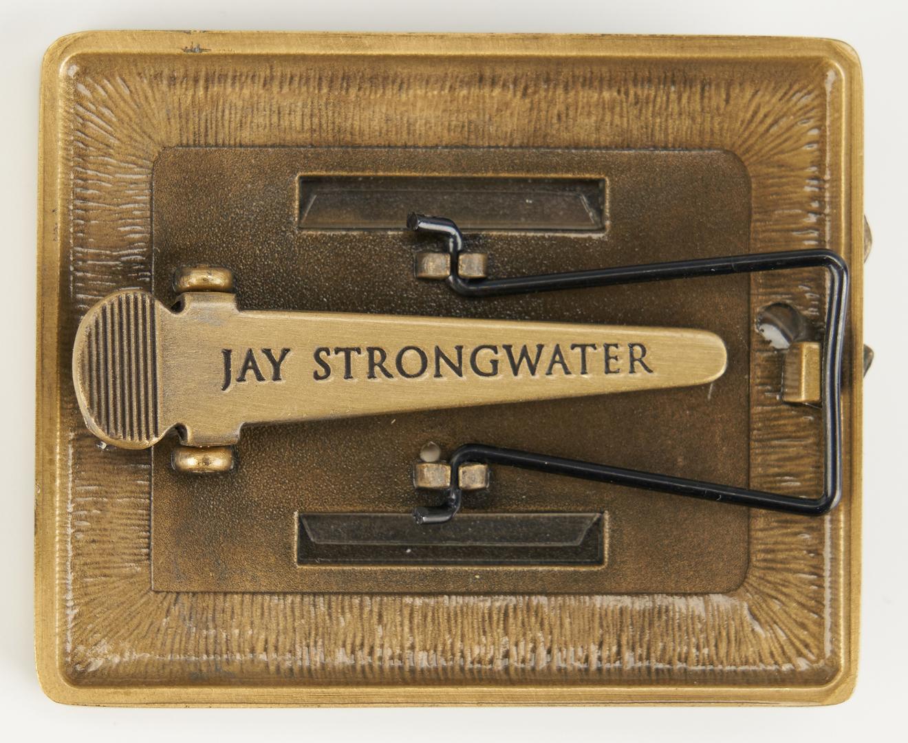 Lot 1117: 3 Jay Strongwater Items & 1 Phoenix Studios Lamp