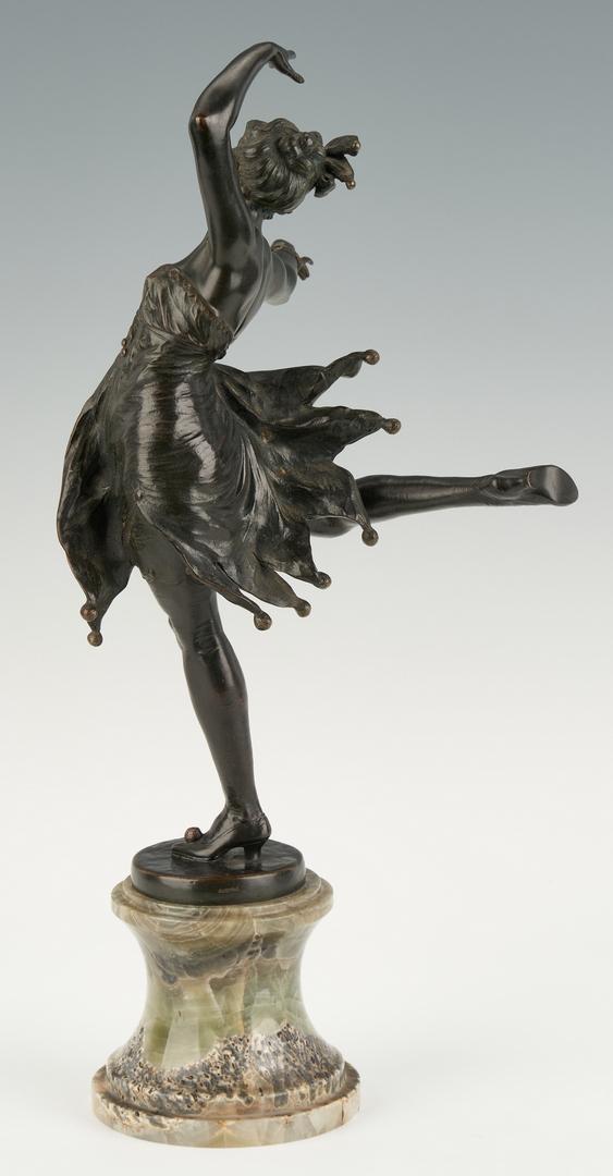 Lot 1118: Austrian Bronze Sculpture, Dancing Girl
