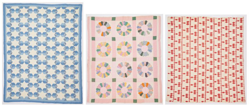 Lot 1140: 3 TN Pieced Cotton Quilts