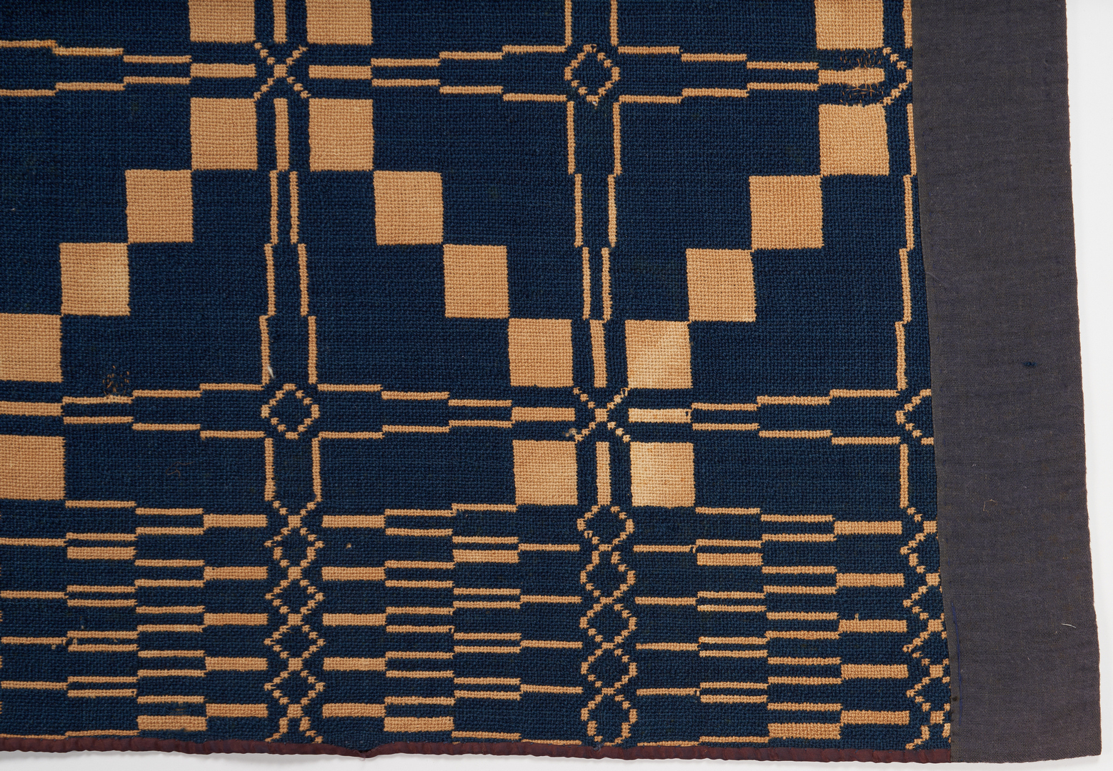 Lot 1143: Group of 3 Southern Overshot Coverlets