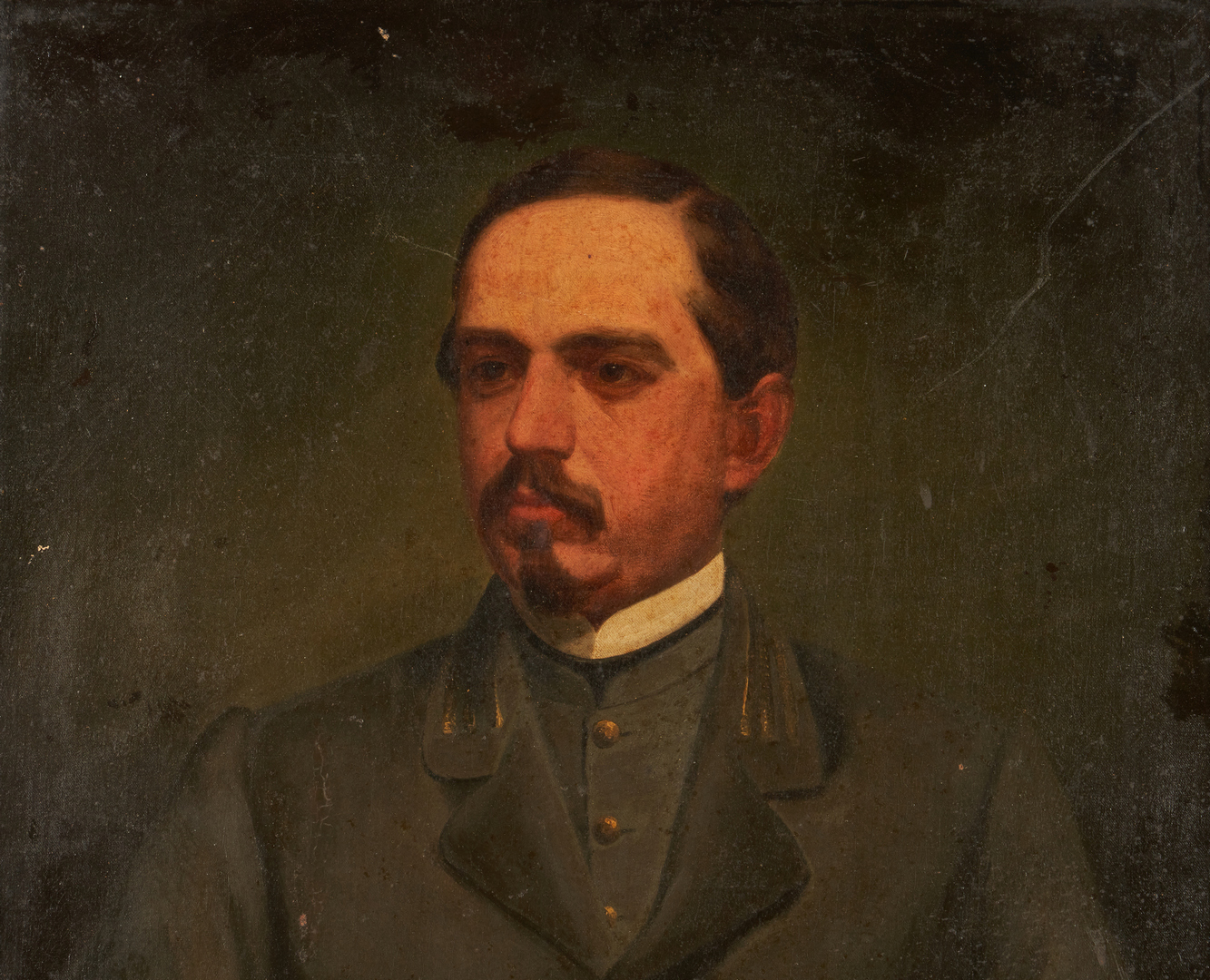 Lot 1153: Portrait of CSA Capt. Samuel Wilkins, North Caroli