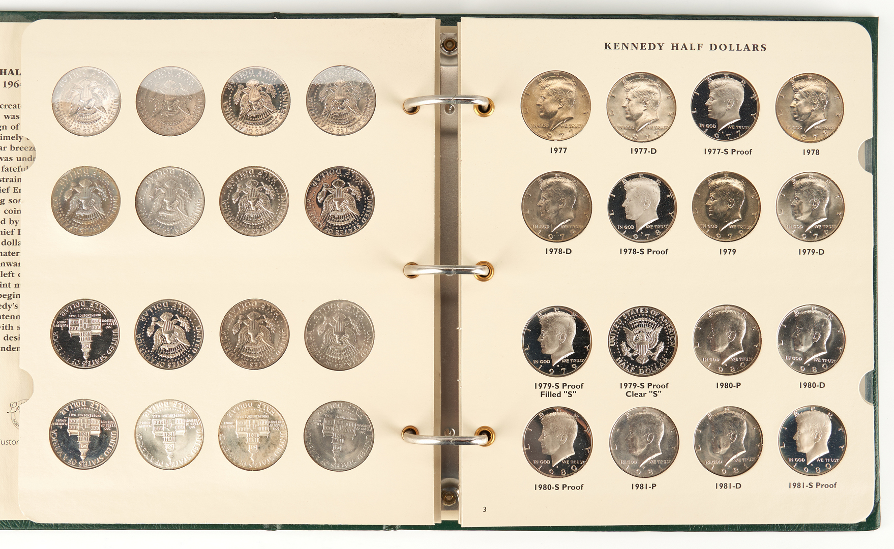 Lot 1169: 137 U.S. Mint Coins, incl. 90% Silver Coins