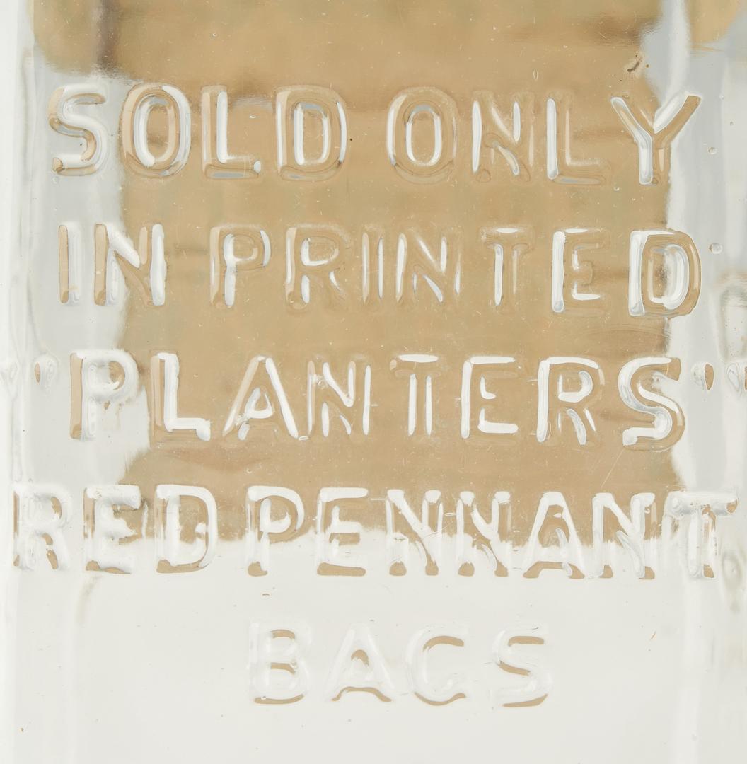 Lot 1176: 3 Planters Peanuts Advertising Jars