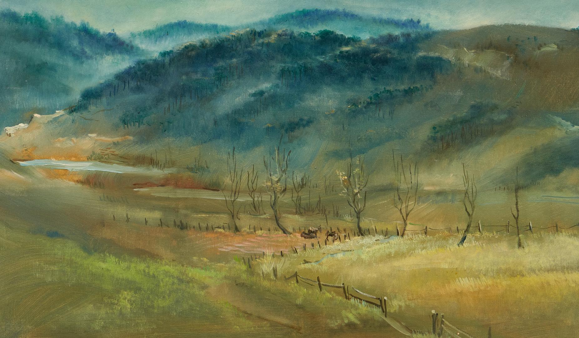 Lot 135: Lamar Dodd O/C, Alabama Valley Landscape