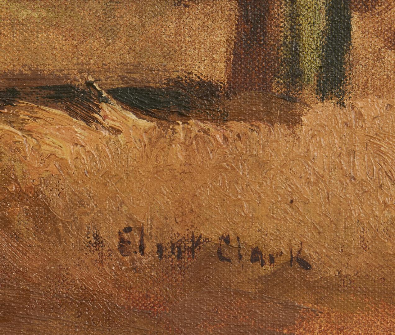 Lot 138: Eliot Clark O/C Painting, Virginia Barn
