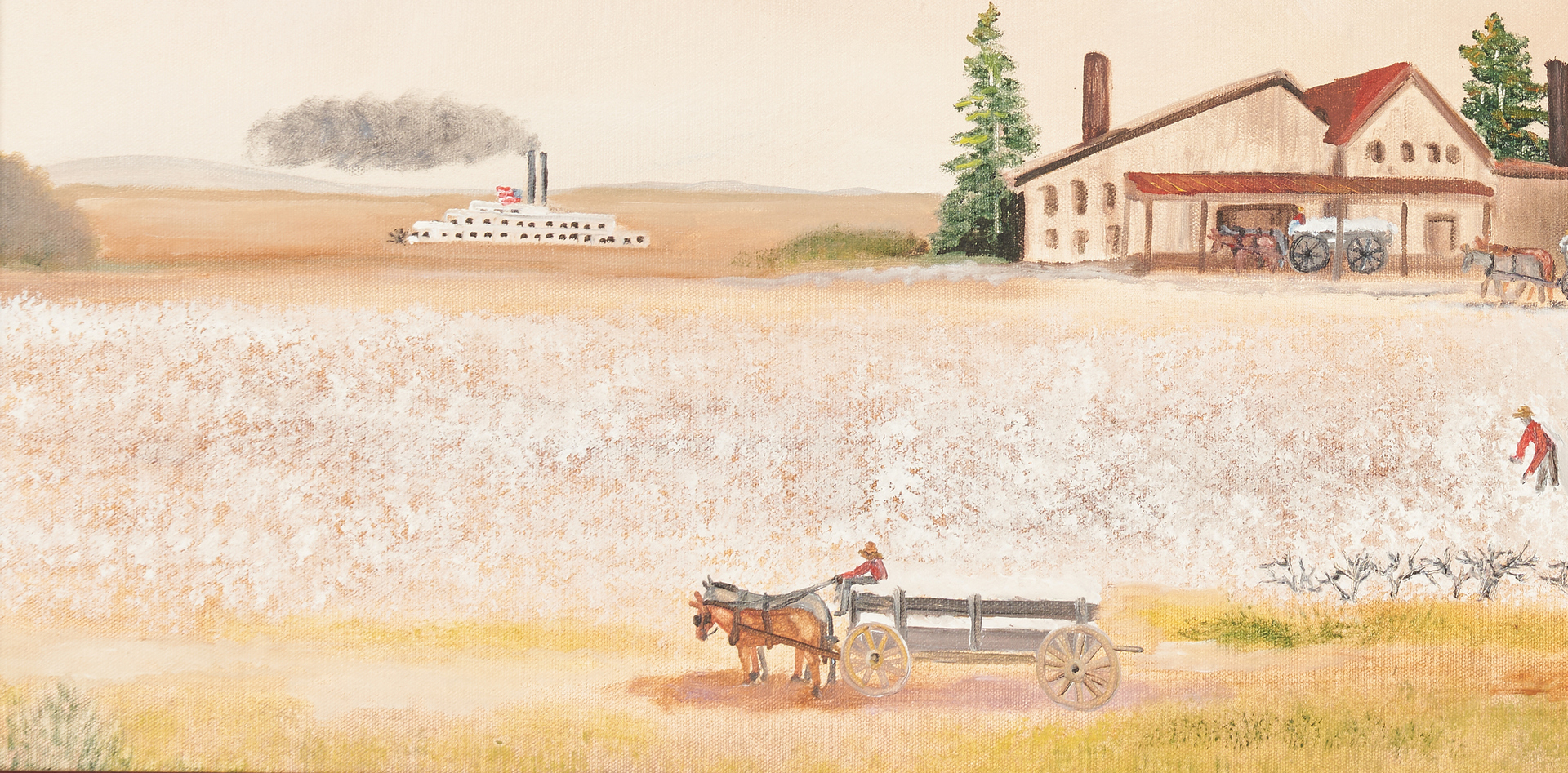 Lot 145: Helen LaFrance O/B, Cotton Farm