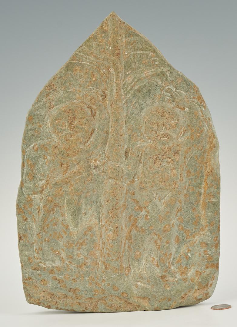 Lot 156: Raymond Coins Stele Sculpture, Adam & Eve
