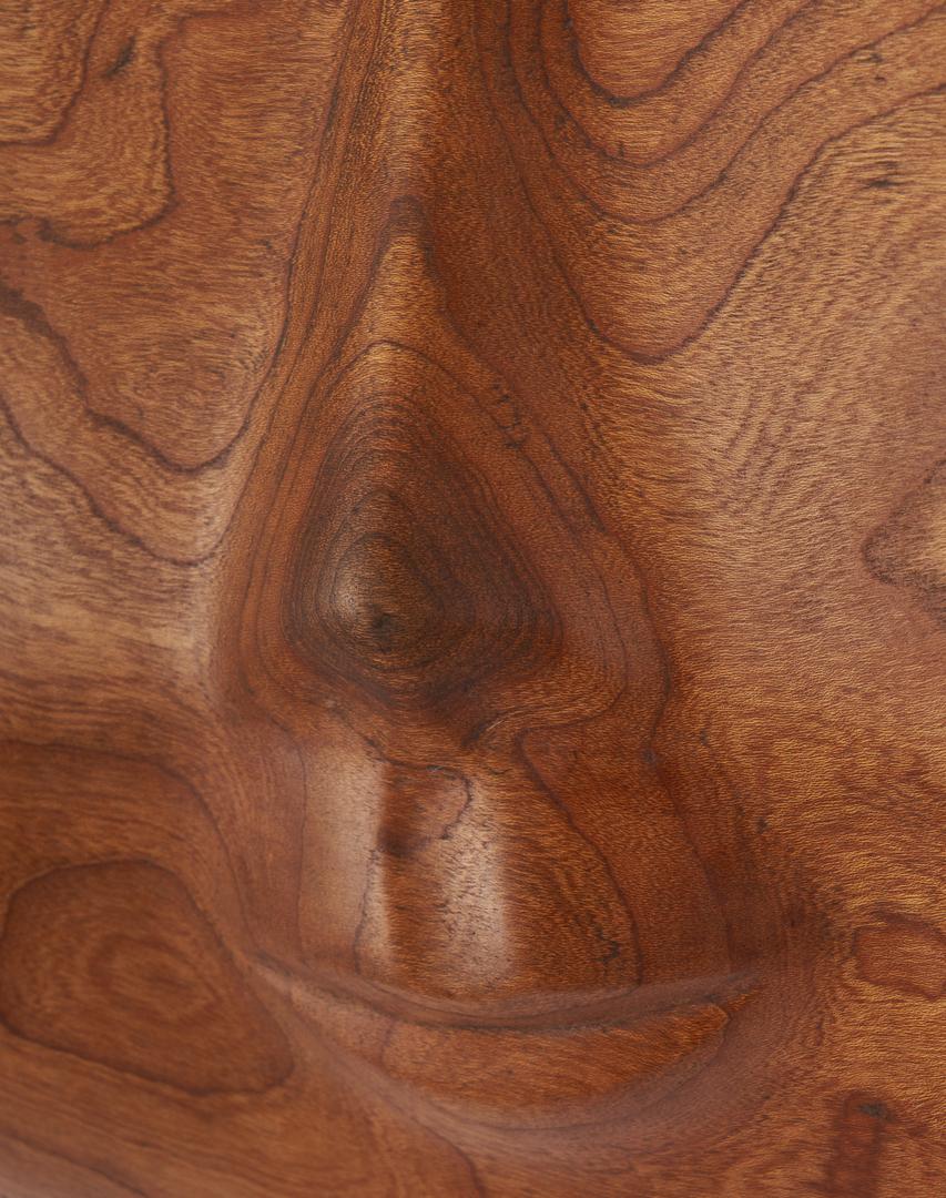 Lot 157: 2 Olen Bryant Carved Walnut Sculptures