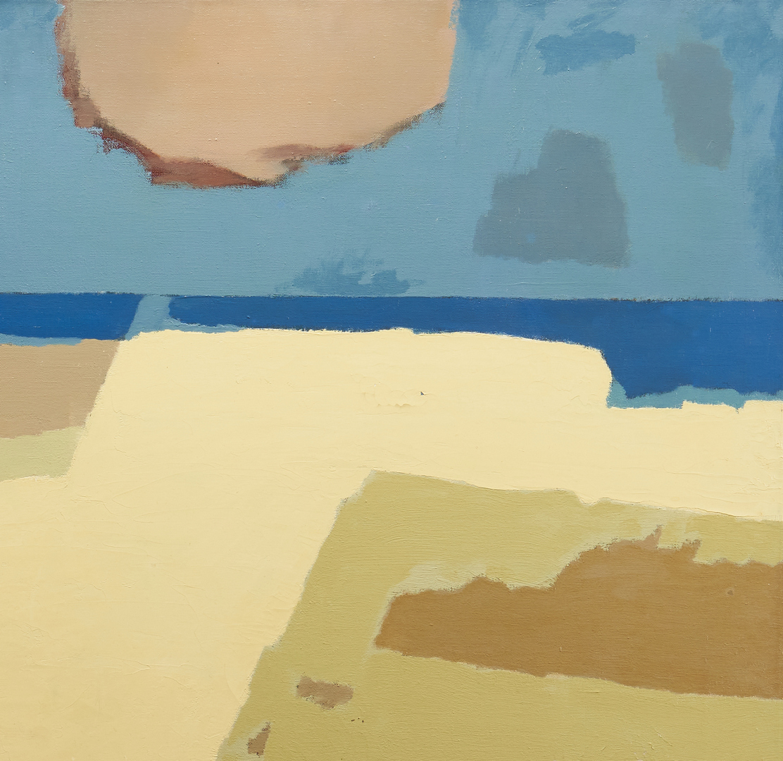Lot 164: George Cress O/C Painting, Seawall