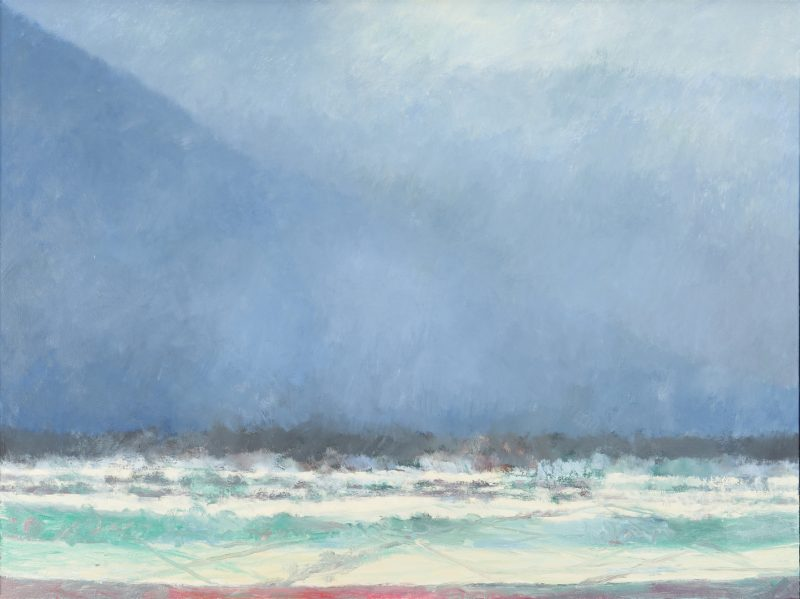 Lot 165: Joanna Higgs Ross O/C Painting, Cades Cove No. 9