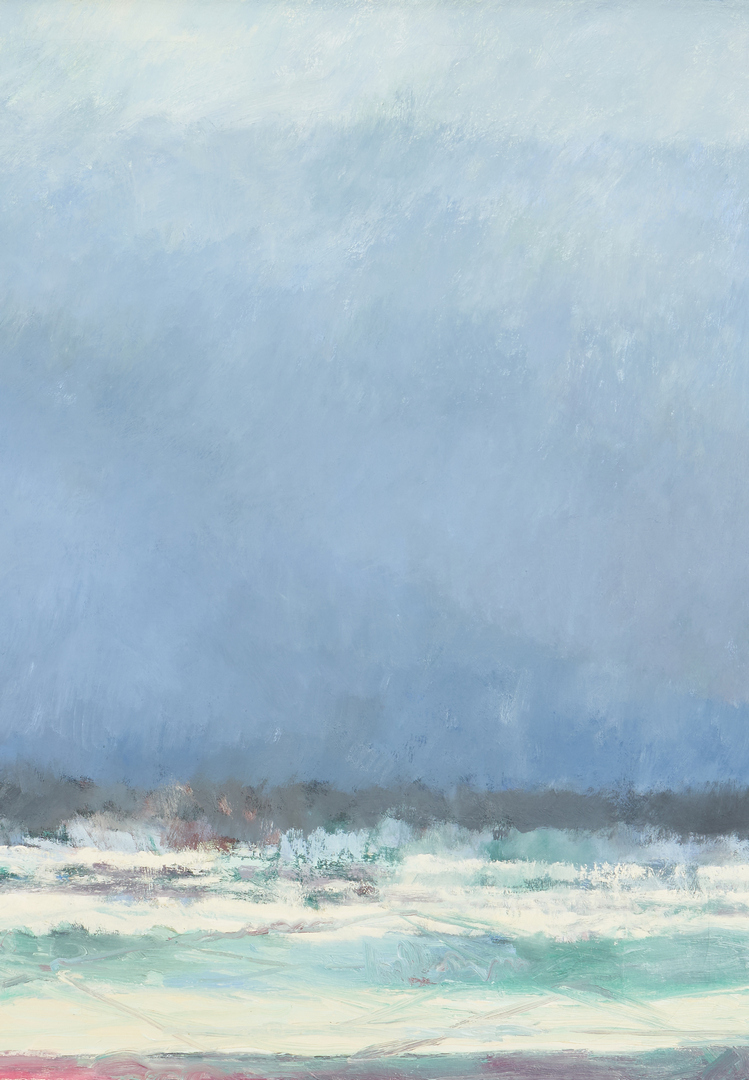 Lot 165: Joanna Higgs Ross O/C Painting, Cades Cove No. 9