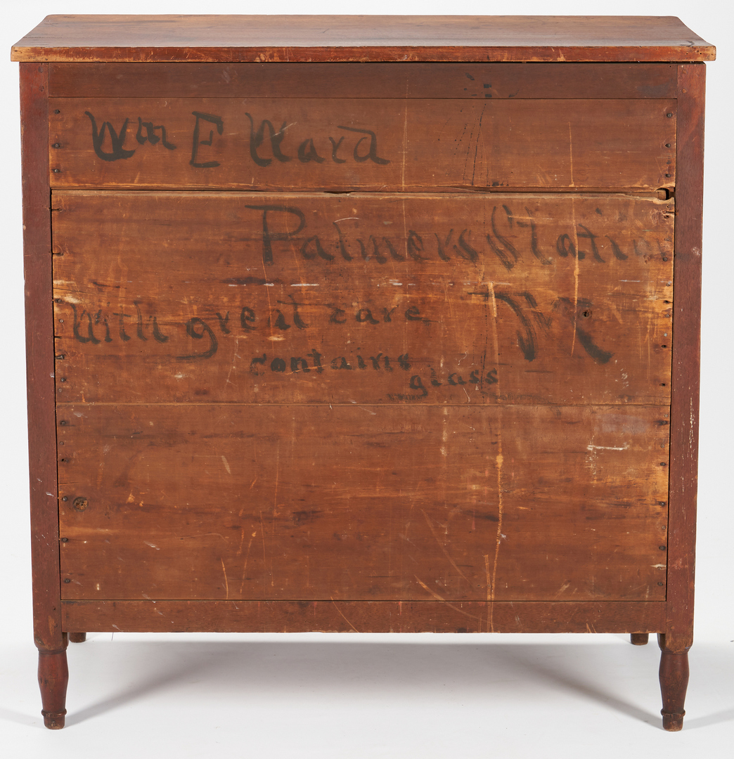 Lot 183: TN Diminutive Sheraton Chest of Drawers, Signed