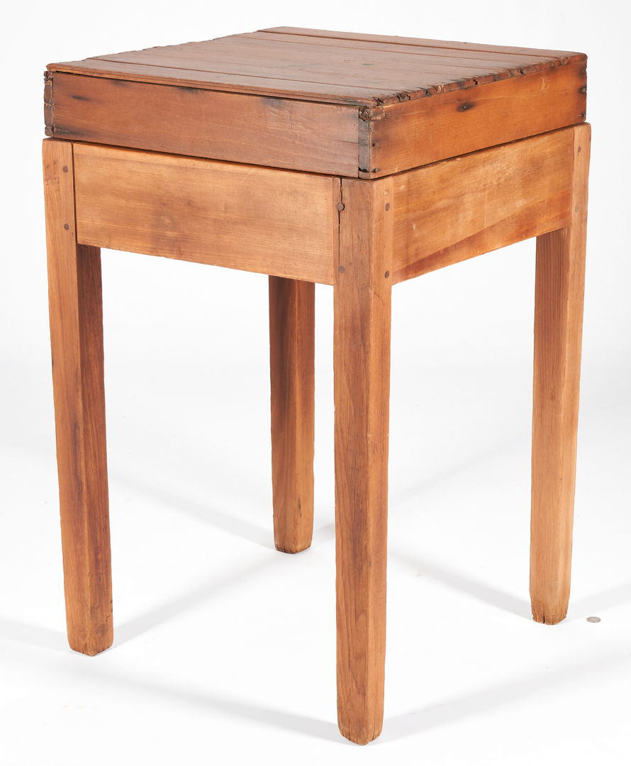 Lot 186: Southern Biscuit Board Table