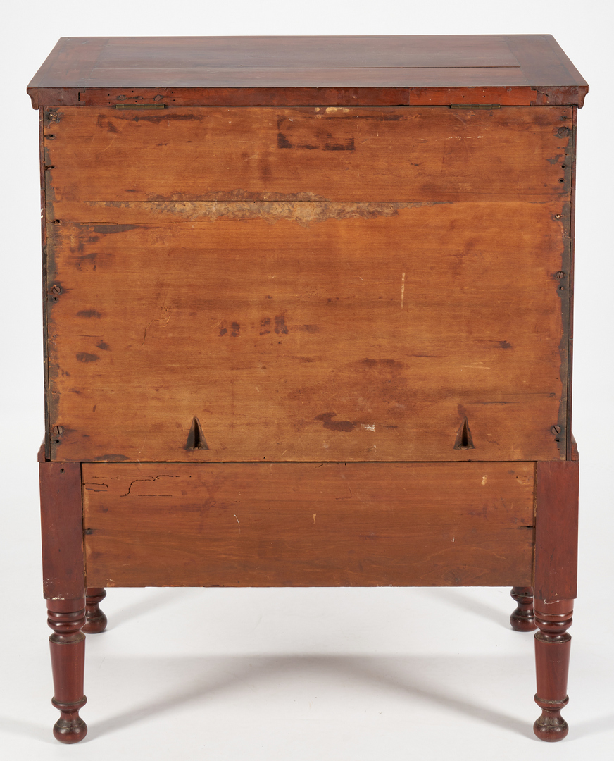 Lot 188: Middle TN Giles Co. Sugar Chest with Photo