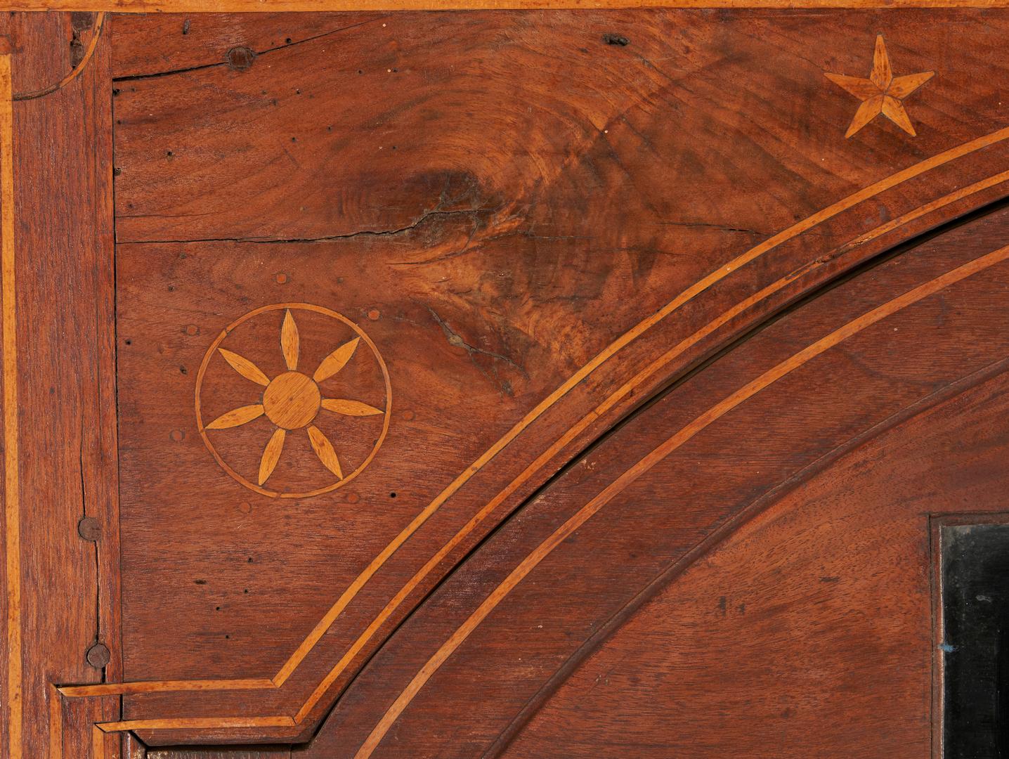 Lot 190: East TN or SW VA Inlaid Corner Cupboard