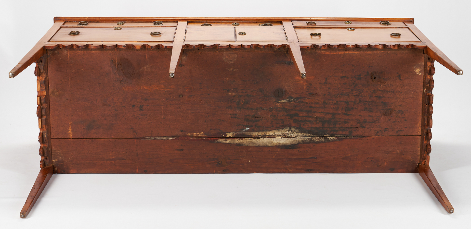 Lot 191: Southern Maple & Pine Federal Huntboard